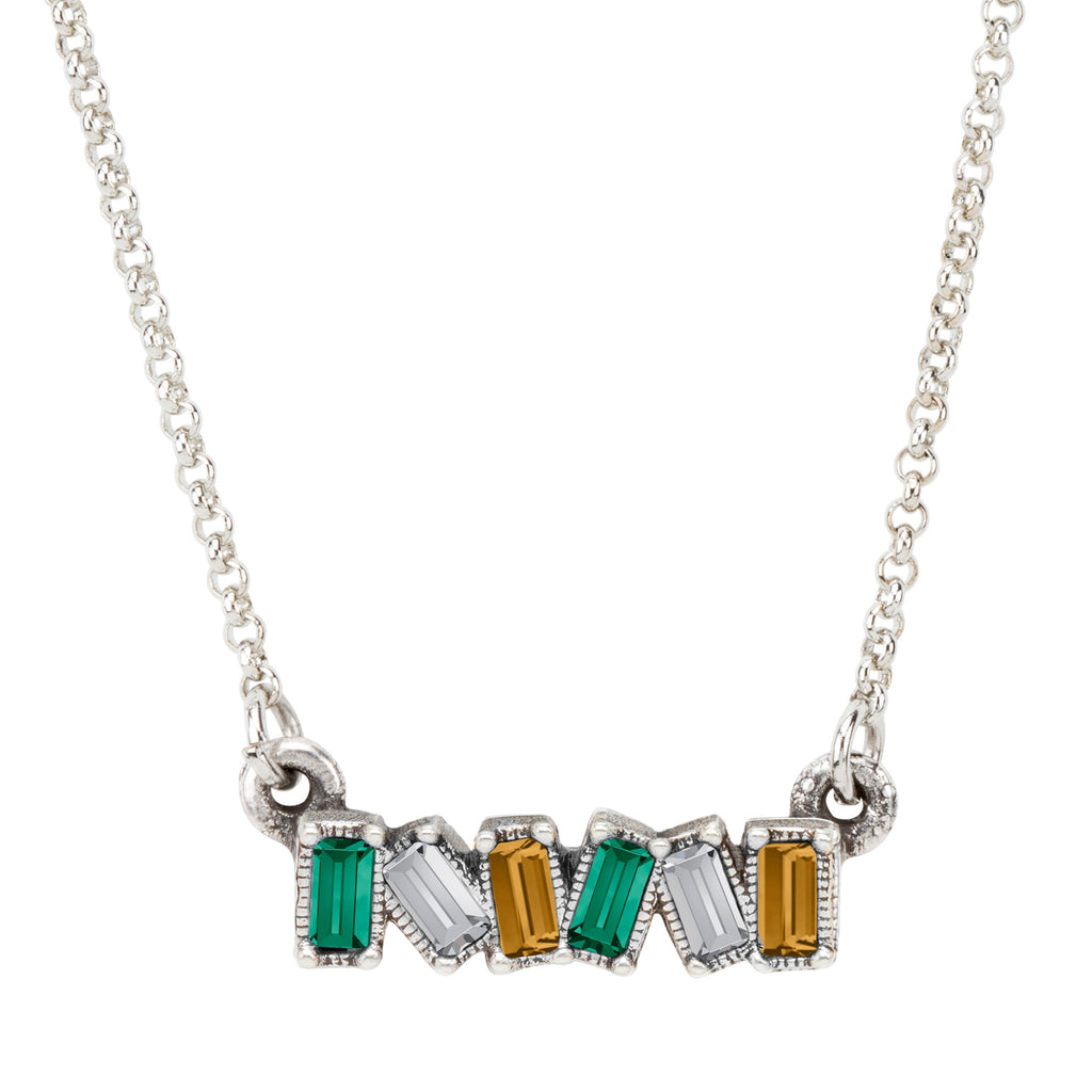 Ireland Mini Hudson Necklace choose finish:Silver Plated