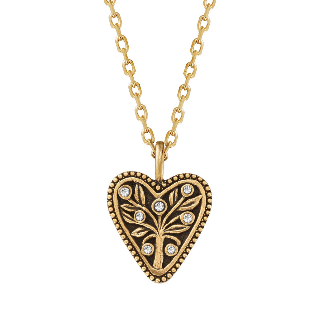Tree of Life Necklace choose finish:18k gold plated