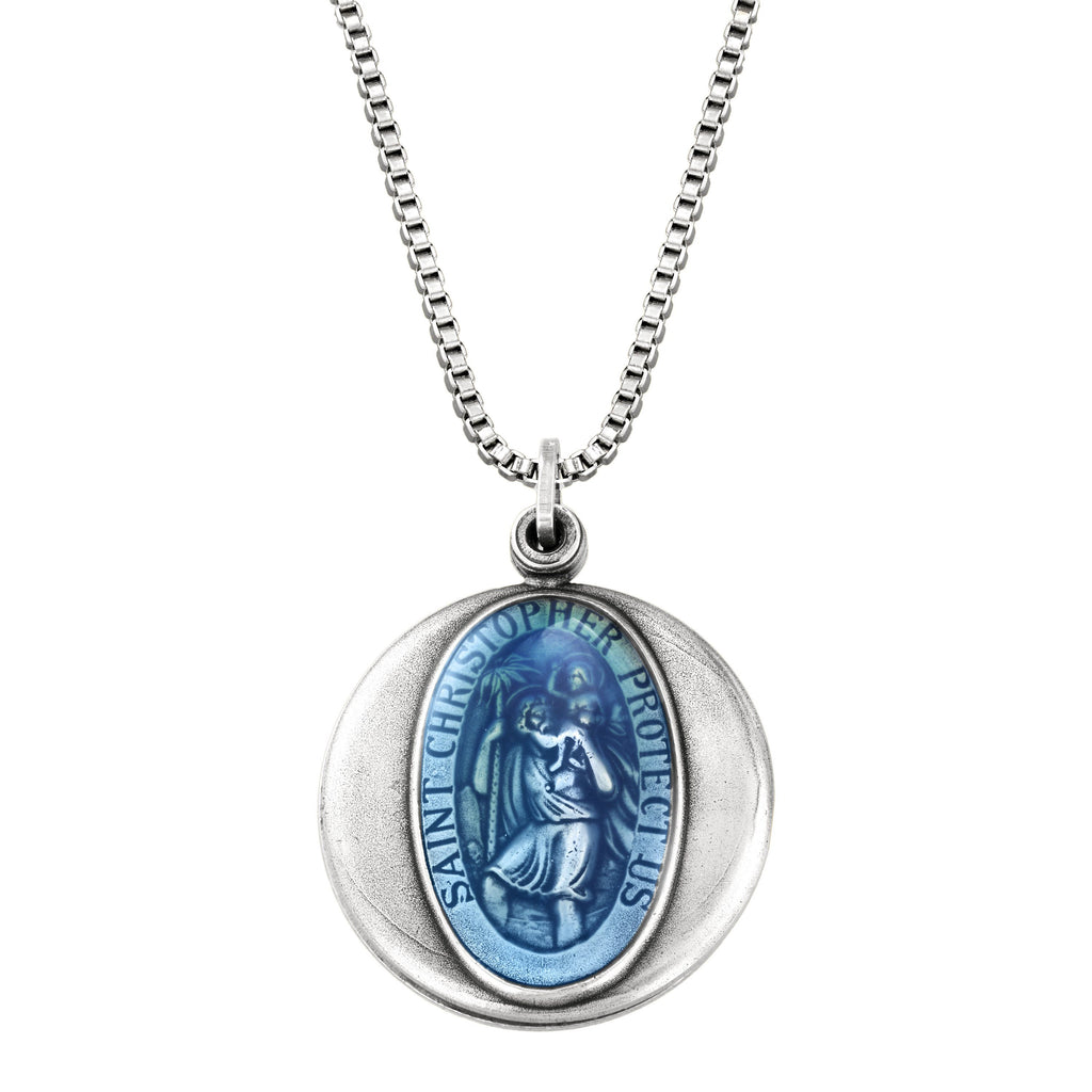 Saint Christopher Locket