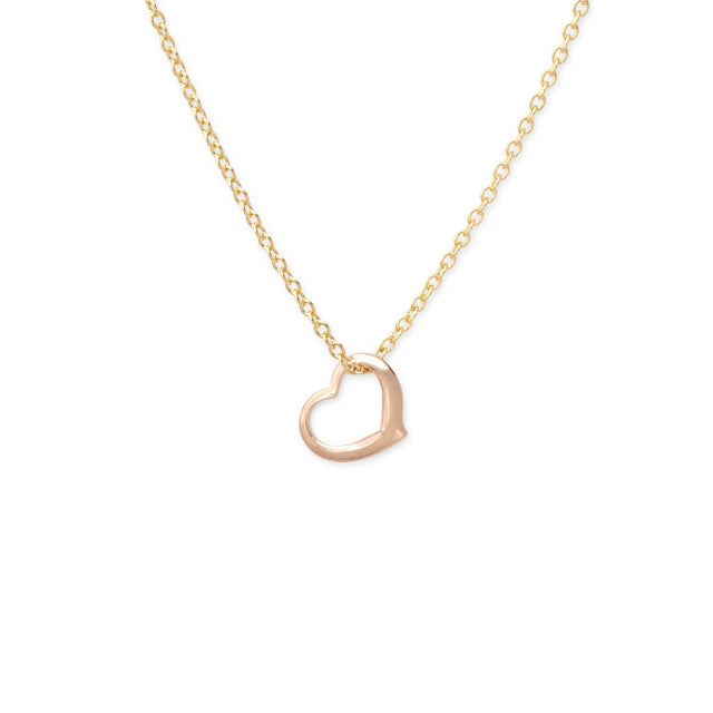 Full of Love Necklace finish:18k Gold Plated