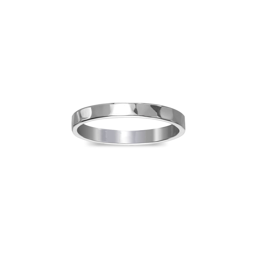 Hammered Ring finish:Silver Plated