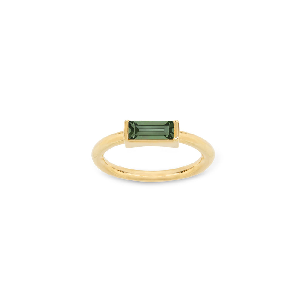 Mini Hudson Ring in Pine choose finish:18k Gold Plated
