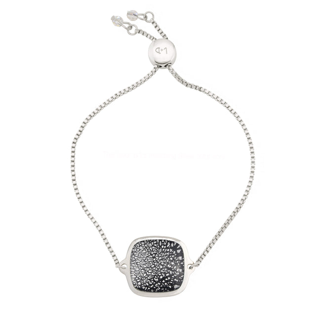 Starlight Slider Bracelet finish:Silver Plated