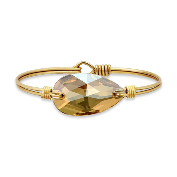 Champagne Bauble Bangle Bracelet