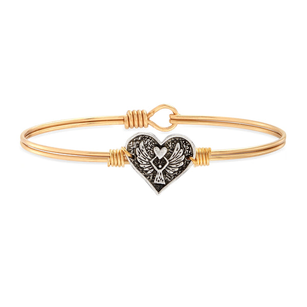 Angel Heart Bangle