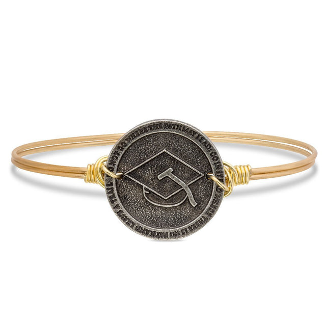 2018 Graduation Cap Bangle
