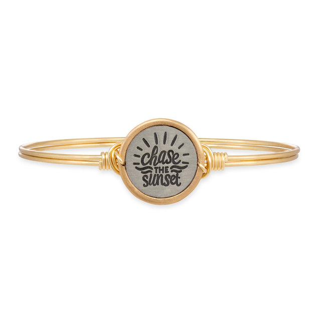 Chase the Sunset Bangle Bracelet
