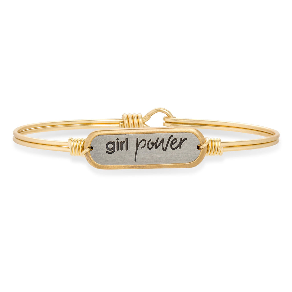 Girl Power Bangle Bracelet