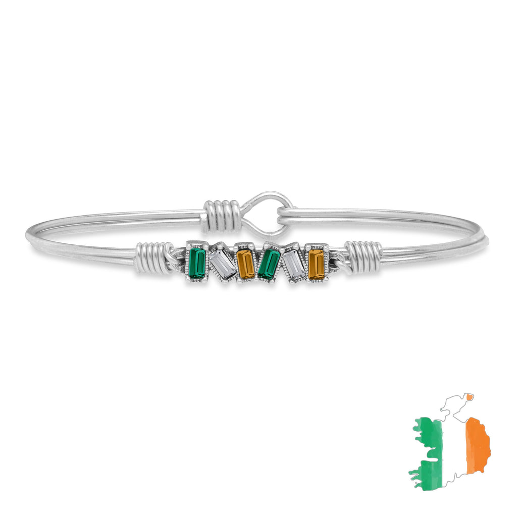 Ireland Mini Hudson Bangle Bracelet choose finish:Silver Tone