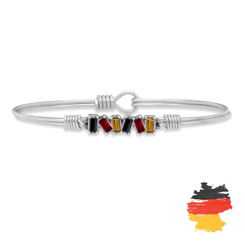 Germany Mini Hudson Bangle Bracelet choose finish:Silver Tone