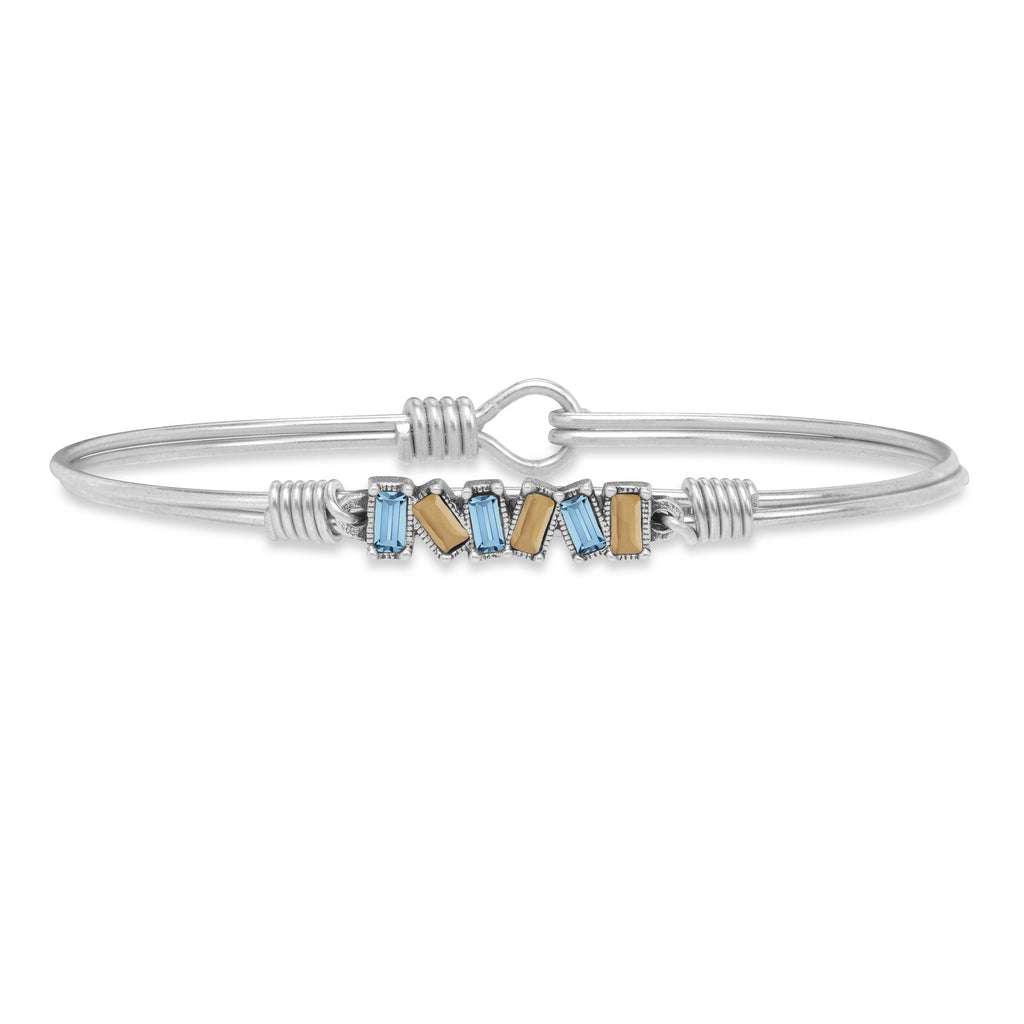 Eight Clap Bangle Bracelet choose finish:Silver Tone