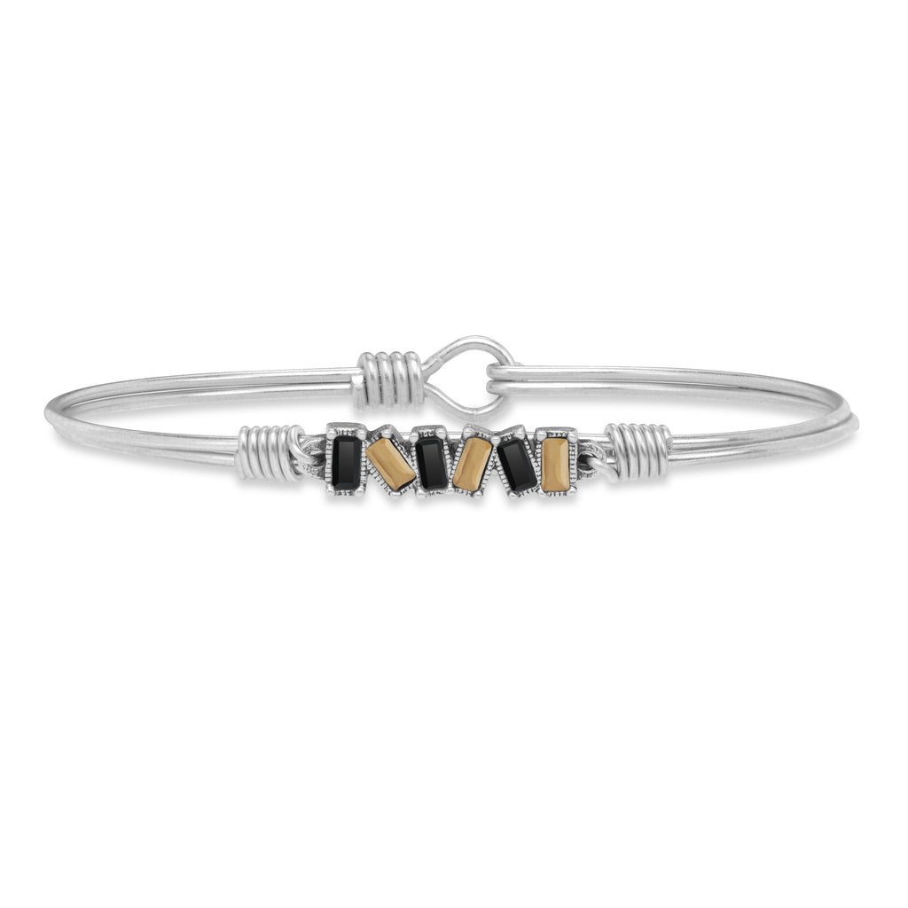 Slayter Hill Bangle Bracelet choose finish:Silver Tone