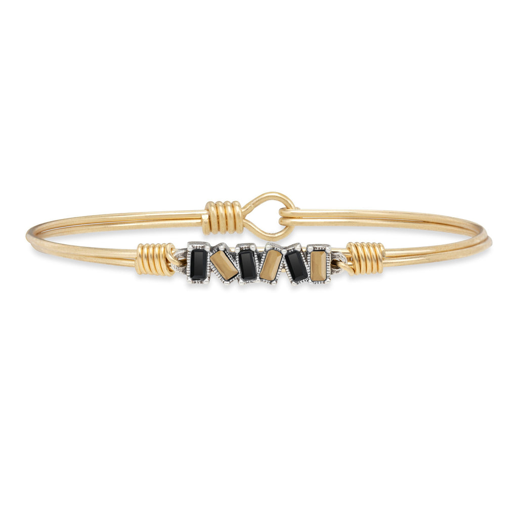 Slayter Hill Bangle Bracelet choose finish:Brass Tone