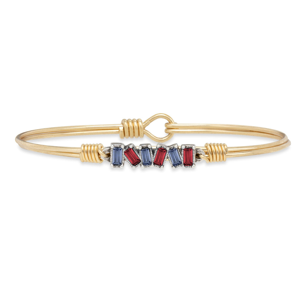 Tucson Bangle Bracelet choose finish:Brass Tone