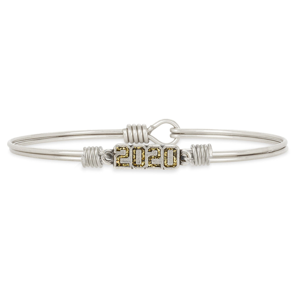 2020 Bangle Bracelet choose finish:Silver Tone