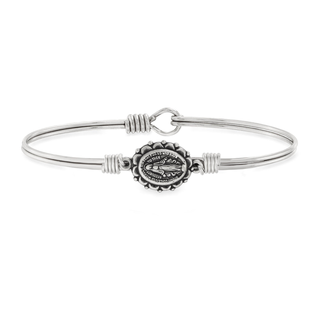 Miraculous Bangle Bracelet choose finish:Silver Tone