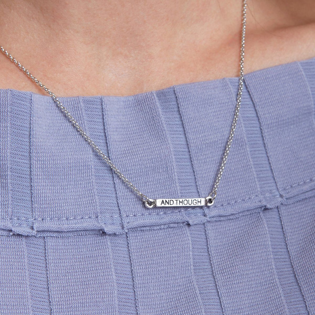 You Are The Page Necklace choose finish: