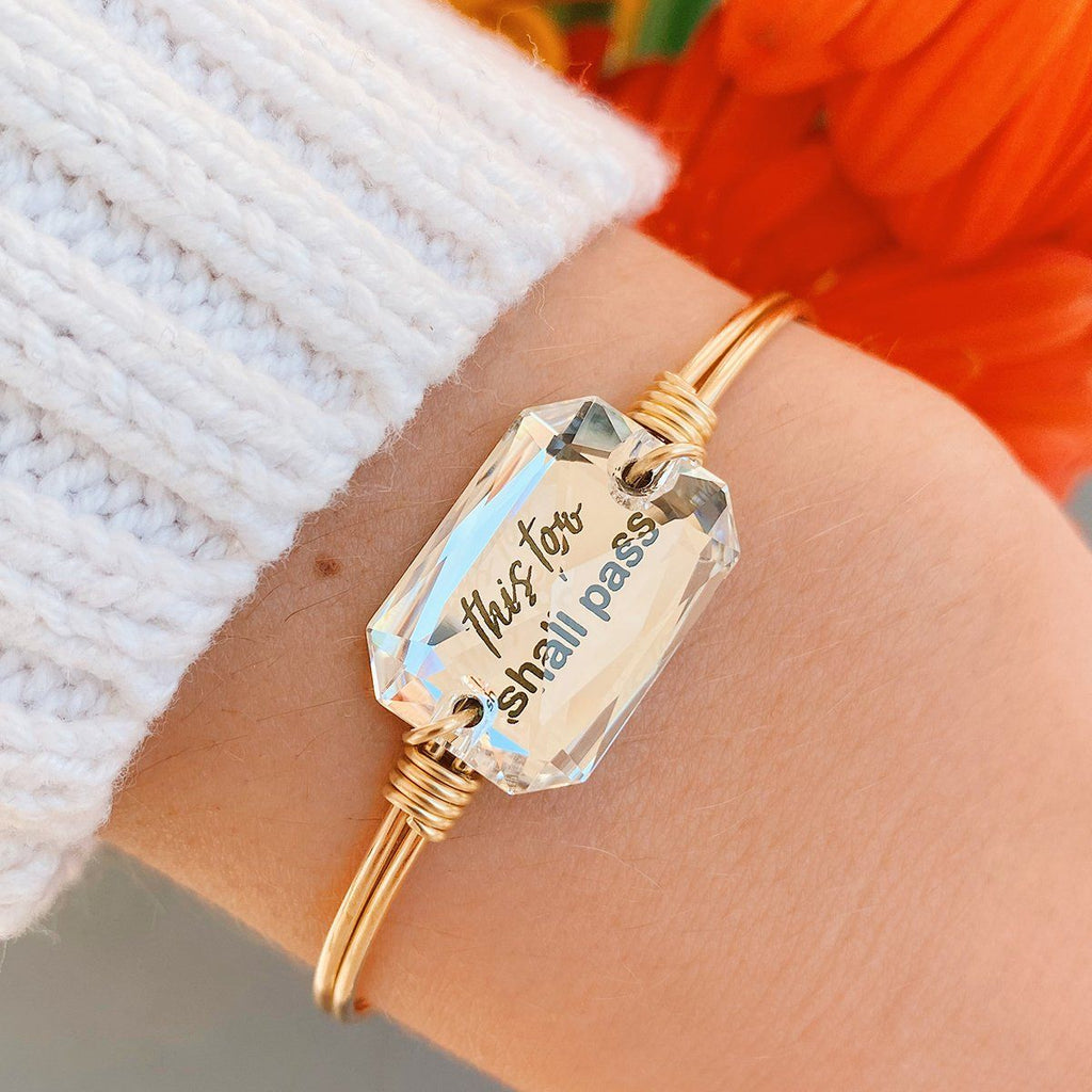 This Too Shall Pass Bangle Bracelet