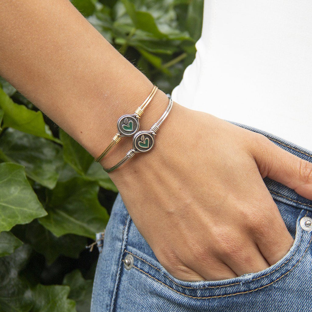 Powered By Plants Bangle Bracelet