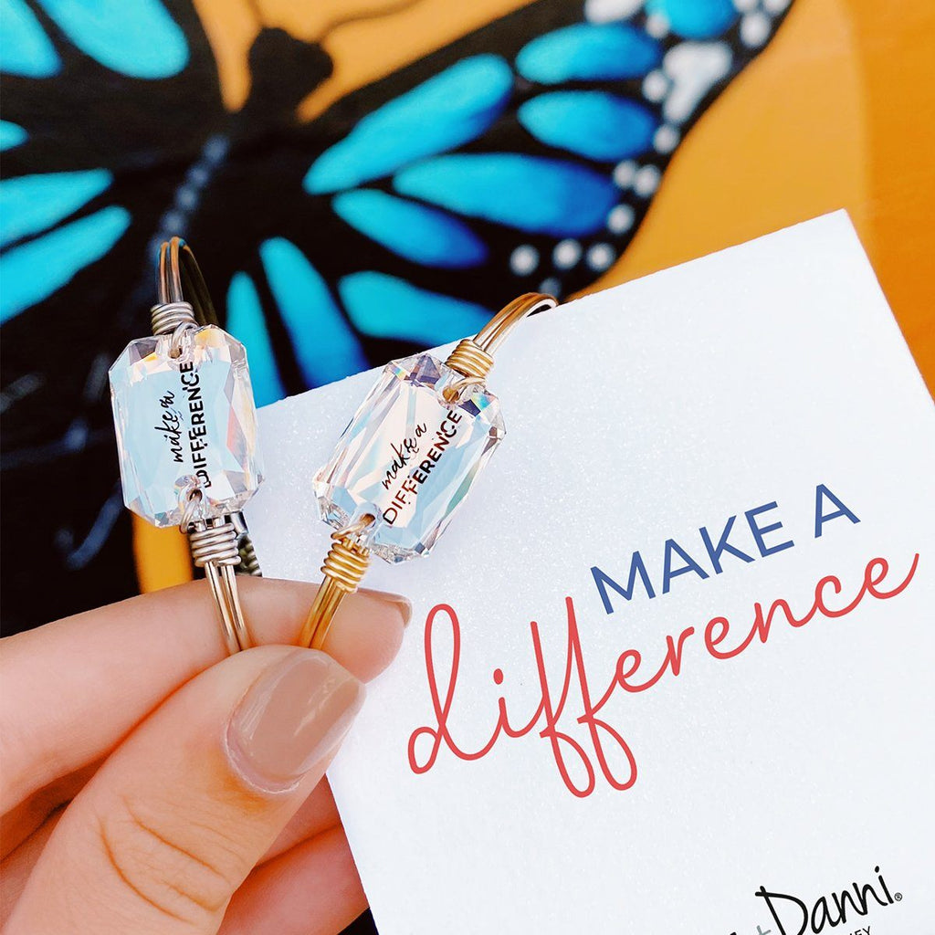 Make a Difference Bangle Bracelet