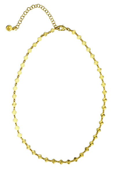 Hayley Choker Necklace - Gold