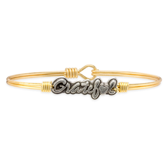 Be Grateful Bangle Bracelet