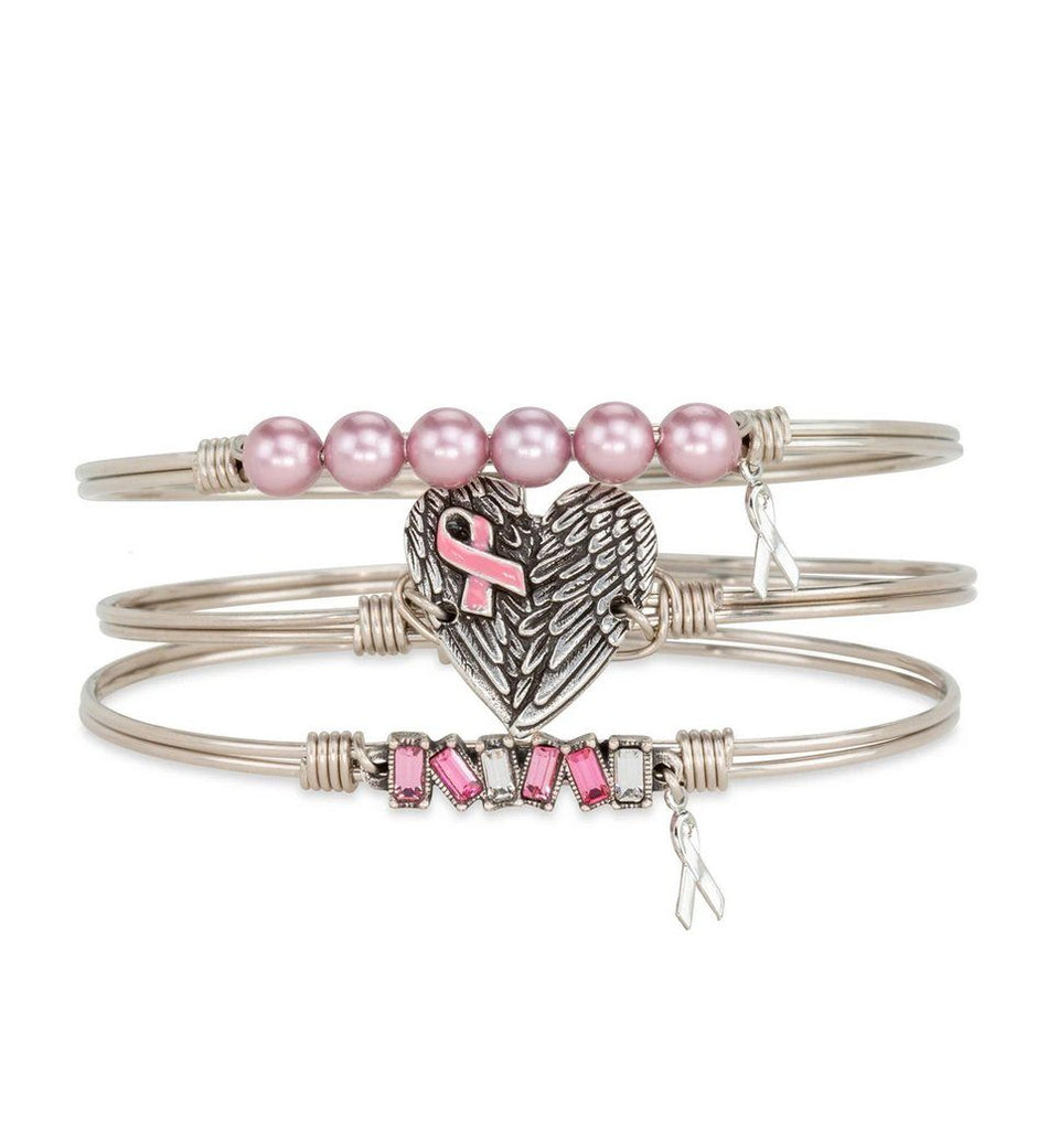 Power of Pink Breast Cancer Stack