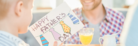 father's day greeting card from son