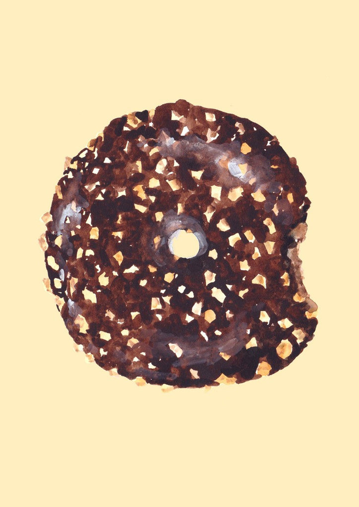 Chocolate Peanut Donut