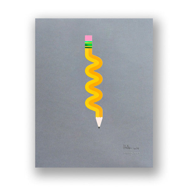 "PENCIL ME IN ""SQUIGGLE"""