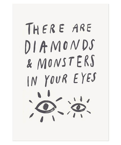 Diamonds and Monsters