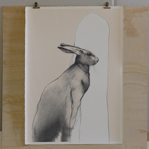 The Hare (Sitting)
