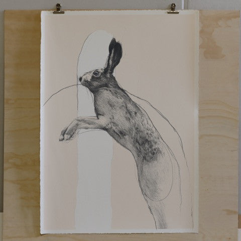 The Hare (Jumping)