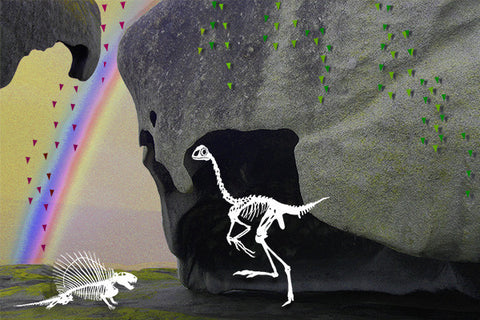 Jurassic Lark - Rainbows and Caves