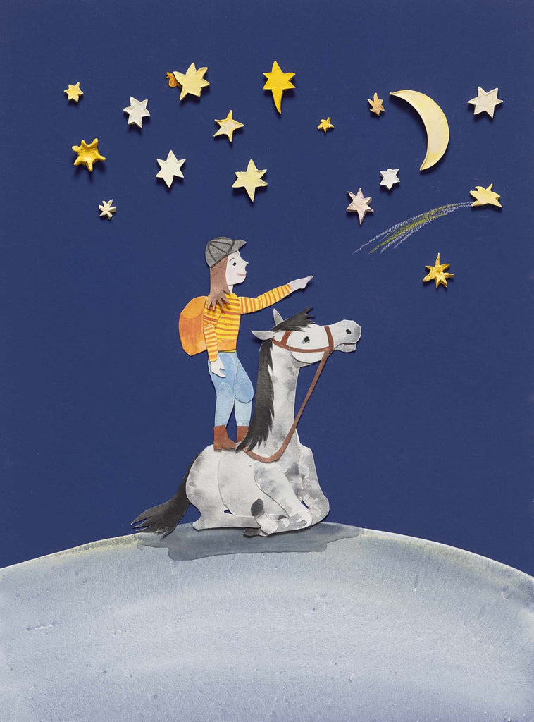 Stars (illustration from Slow Down World)