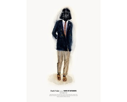 HE WEARS IT 001 - DARTH VADER