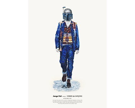 HE WEARS IT 007 - JANGO FETT