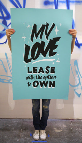 My Love: Lease With Option to Own