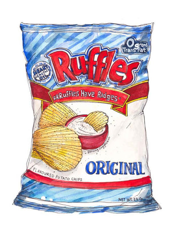 RUFFLES ORIGINAL CHIPPY CHIPS!