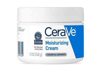 CeraVe Moisturizing Cream for Normal to Dry Skin - Unscented - 12oz - PULCHRA STORE™