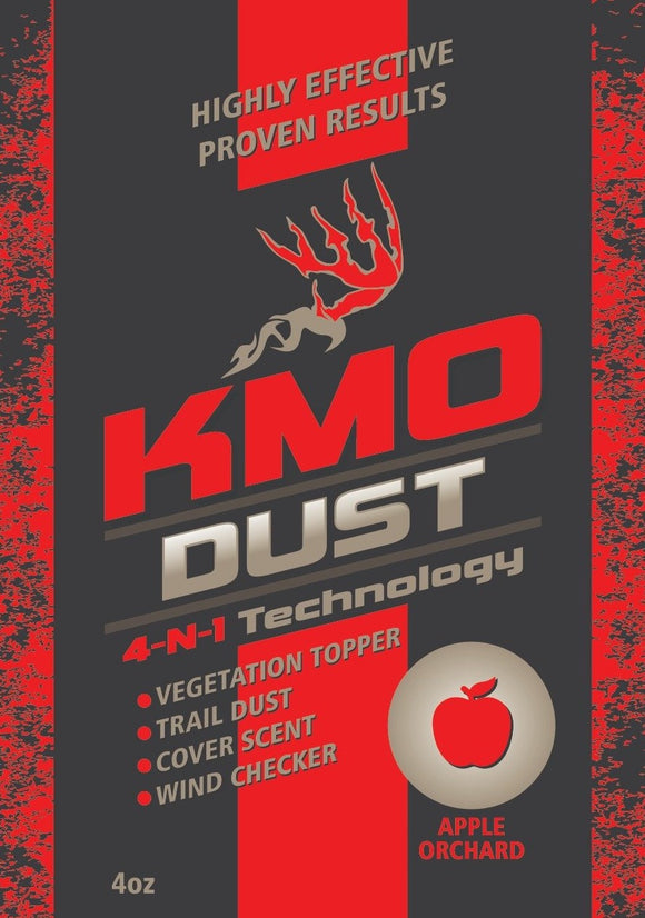 Apple Orchard KMO Dust for sale at Buck Stalker Attractants.