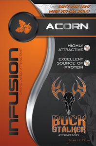 Infusion Acorn Deer Attractant for sale at Buck Stalker Attractants.