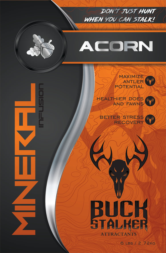 Acorn Deer Mineral Infusion for sale at Buck Stalker Attractants.