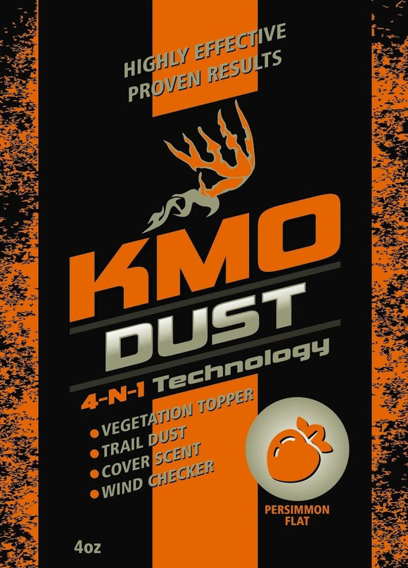 Persimmon Flat KMO Dust for sale at Buck Stalker Attractants.