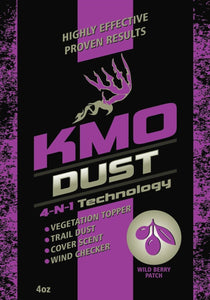Wild Berry Patch KMO Dust for sale at Buck Stalker Attractants.
