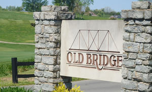 Old Bridge Welcome Sign
