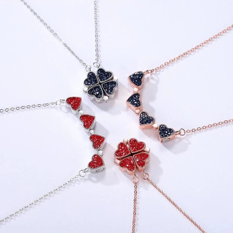 2-in-1 Necklace & Rose Box - Mysroses