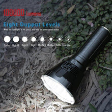 Load image into Gallery viewer, 30000-100000 Lumens 8 Modes High Brightness LED Flashlight