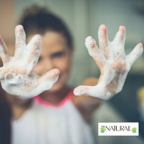 Soapy hands