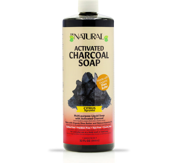 Activated Charcoal Soap Citrus
